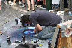 Brussel-2014-1012-Straattekenaar