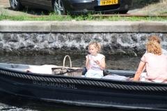 Haarlem-1144-Gezellig-in-een-bootje-op-Het-Spaarne